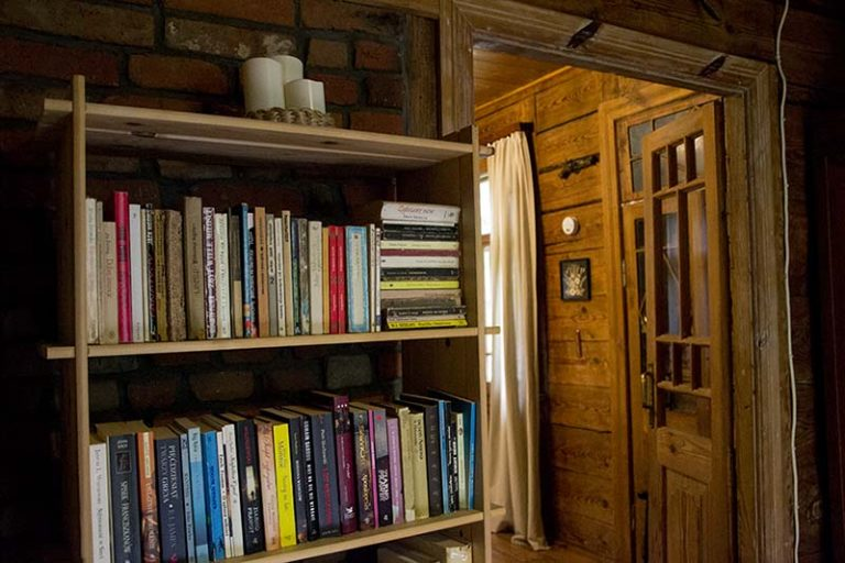 leśniczówa biblioteczka