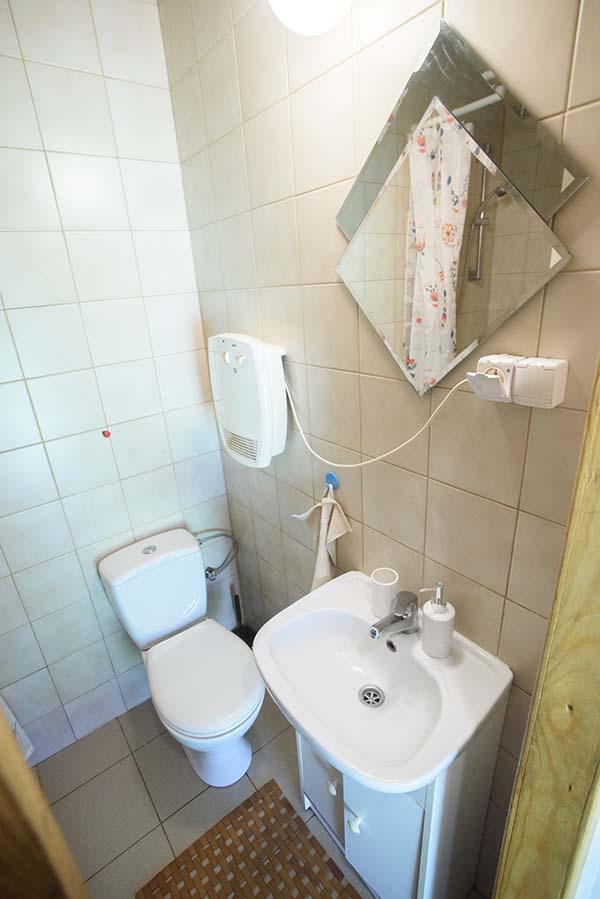leśniczówka łazienka
