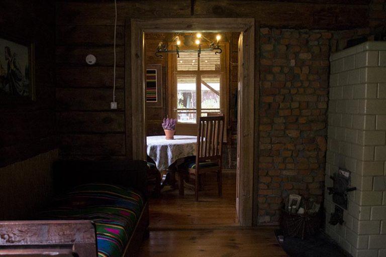 leśniczówka pokój w amfiladzie